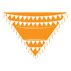 Traditional mexican poncho. Cinco de mayo. Vector illustration design