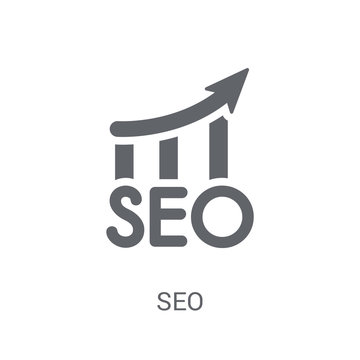 Seo icon. Trendy Seo logo concept on white background from Programming collection