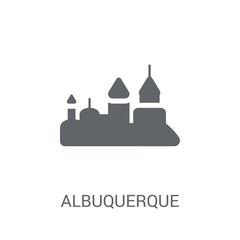 albuquerque icon. Trendy albuquerque logo concept on white background from United States of America collection