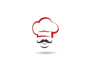 Hat chef vector icon