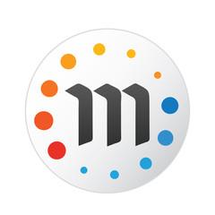 Metaverse coin icon, Crypto Currency, Vector