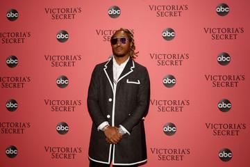 Future arrives at the 2018 Victoria's Secret Fashion Show at Pier 94