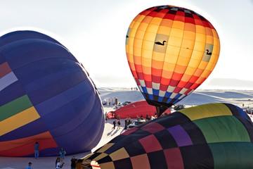 Balloon Fiesta on White Sands National Monument