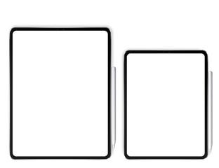New tablet Pro X vector illustration