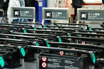 羽田国際空港のカート
