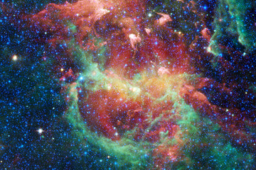 Nebula in beautiful endless universe. Awesome for wallpaper and print.