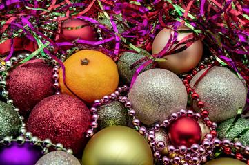 Christmas ball ornaments Christmas holiday decor new year