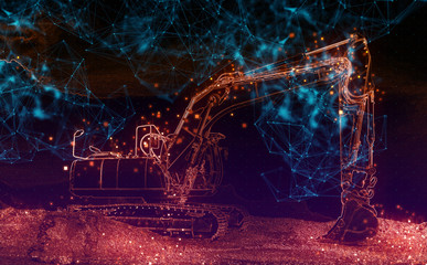 Connected Excavator Industry
