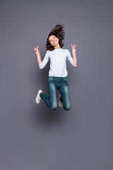 Wall Mural - Full legs body size vertical motion movement action attractive p