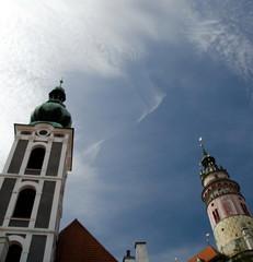Towers of Cesky Krumlov