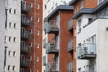 Fassaden in Southampton