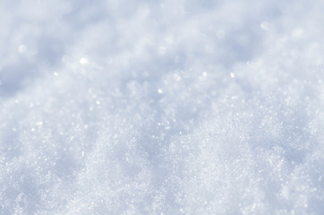 Natural winter background. Snow shiny drifts. Winter snow background texture