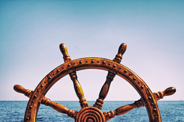 Steering wheel ship