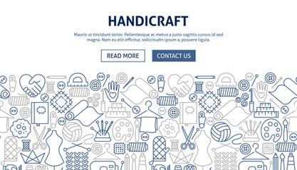 Handicraft Banner Design