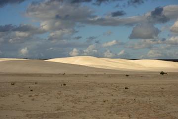 Dunes at sunset in Lancelin