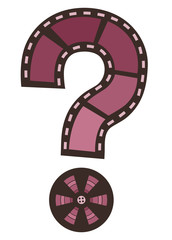 Film Question Mark Illustration