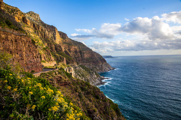 Cape town Chapman's peak drive view South africa