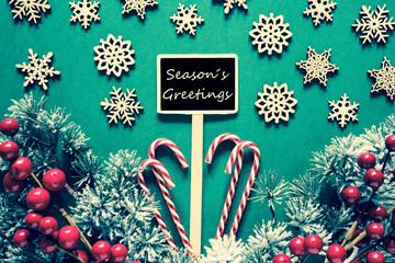 Black Christmas Sign,Lights, Seasons Greetings, Retro Look