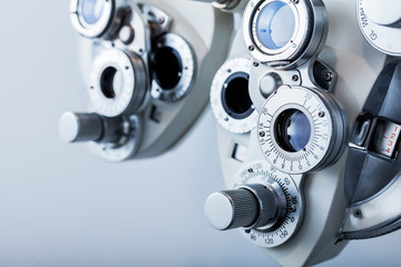 Optical equipment for testing vision.