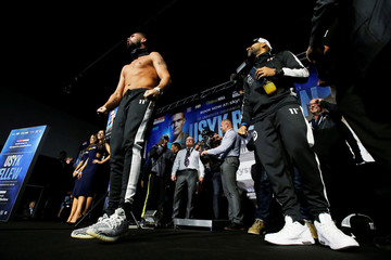Oleksandr Usyk & Tony Bellew Weigh-In
