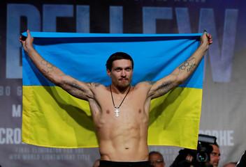 Oleksandr Usyk & Tony Bellew Weigh-In