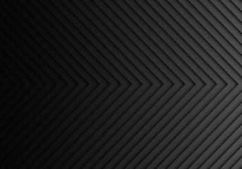 Abstract dark grey arrow pattern light direction background texture vector illustration.