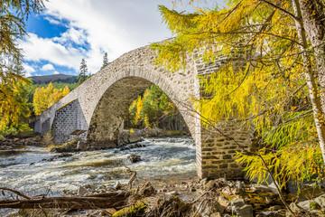 Old bridge at Braemar, Cairngorms National Park, Scotland