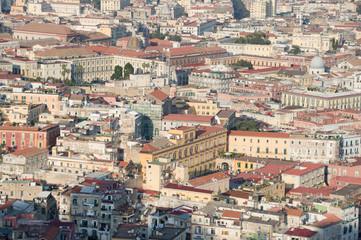 Blick über die Dächer von Neapel