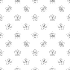 Season flower pattern seamless repeat background for any web design