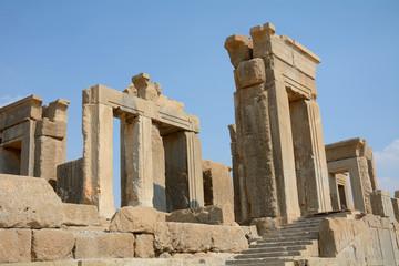 Ruins of the ancient Persian capital city of Persepolis, Iran