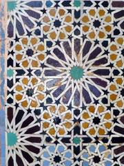 Islamic tiles, Morocco