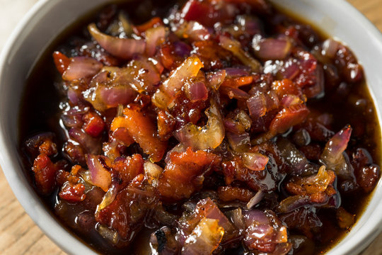 Homemade Sweet Maple Bacon Marmalade