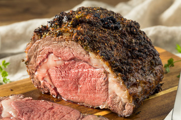 Wall Mural - Roasted Boneless Prime Beef Rib Roast