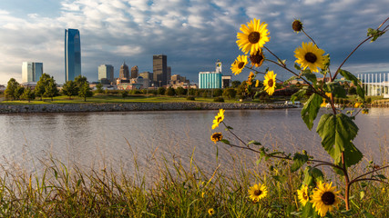 Oklahoma City Skyline, Oklahoma City, Oklahoma