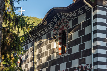hurch of Blessed Virgin in old town of  Blagoevgrad, Bulgaria