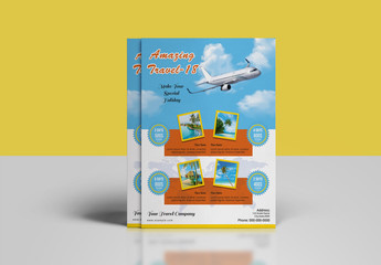 Travel Agency Flyer Layout