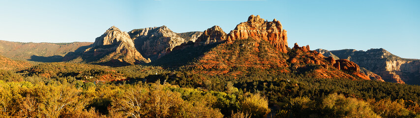Sedona Panorama  high res banner style landscape background
