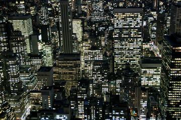 new york city buildings ariel
