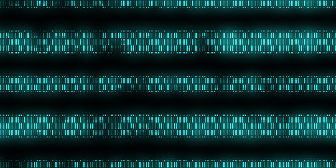 Blue Dna Data Code Background. Seamless Science Dna Data Code Output Sequence. Human Individuality Code Backdrops.