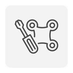 drone screwdriver icon