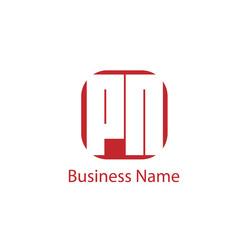 Initial letter PN Logo Template Design