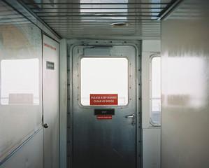 Doorway on a boat