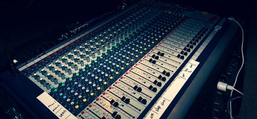 Audio Mixing Board