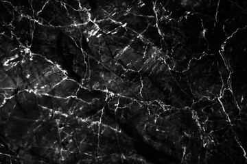 Luxury of black marble texture and background for decorative design pattern art work. Marble with high resolution
