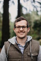 Portrait of Handsome Man in Portland