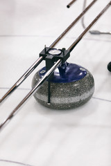 Curling: Using Measuring Device To Determine Winner
