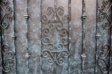 Decorative Iron Gate in Mexico City