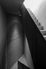 Staircase in housing project