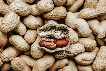 Whole peanuts in shell