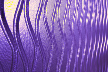 Purple color leather background or texture